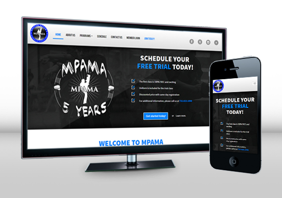 Redesign of MPAMA's original website. Responsive design and code via Twitter Bootstrap.